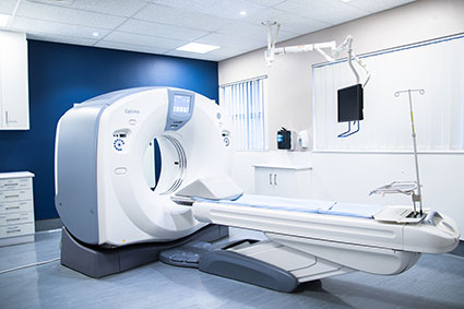 Services Card MRI machine