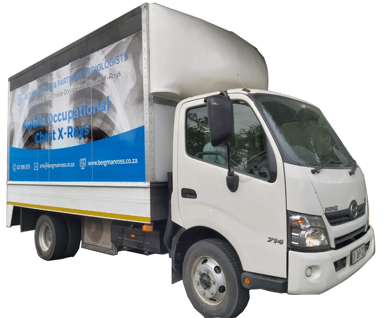 Mobile x-ray truck